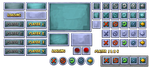 Game GUI Buttons by charfade