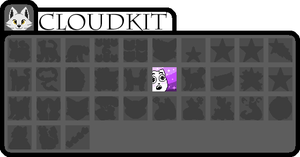 [wb]Cloudkit badges by millemusen