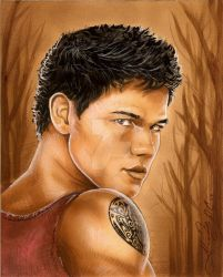 Jacob Black Twilight New Moon by AlexBuechel