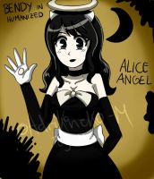 Alice the Angel- BATIM- Human Desing by AdriKoneko-Mizuiro