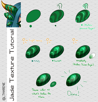 Jade Texture Tutorial by Tharene