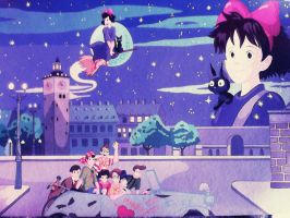 Kiki's Delivery Service by FlapperFoxy