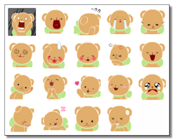 Teddy Bear + Other PLZ Icons by dw817