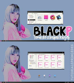 BLACKP theme para iconpackager by TutorialePRINCEDES