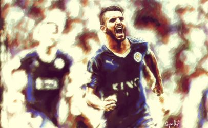 Ryad Mahrez wallpaper by nazimskikda