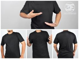 Blank T-Shirt Stock Photos Free (Large Files) by zestladesign