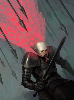 Knight of the Pink Polka Dot by Lizzy-John