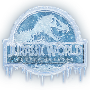 Jurassic World Frozen Kingdom logo by OniPunisher