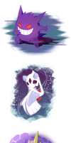 ghost types by NPC-Dion
