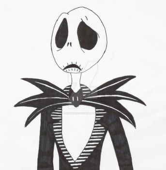 Jack Skellington. by darktears13