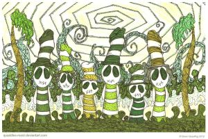 Think Green Wyurmies by Quaddles-Roost