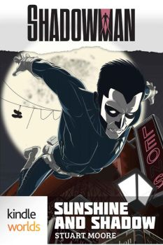 Shadowman Cover as featured on Amazon. by paco850