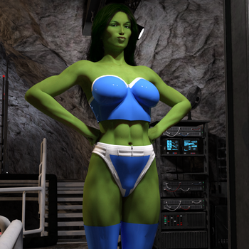 The Sensational She-Hulk by lilacwren