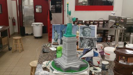 Statue of Liberty sculpt by Speezi