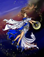 The Goddess Belldandy by foxfire83