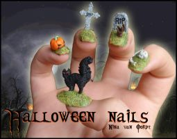 Halloween Nails by Ninails