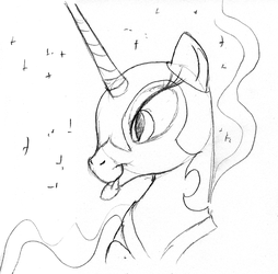 Nightmare Blep (Sketch) by ArrJaySketch