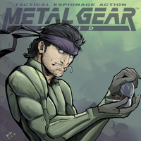 Solid Snake by kola411