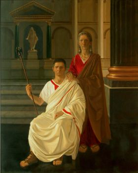 Tiberius and Livia by Damnans