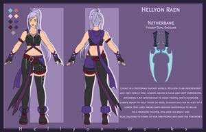 Hellyon Raen - Reference by Hellyon-Works