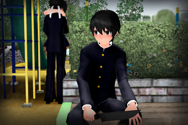 [MMD] Watching by Sofy-14