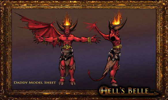 Hell's Belle: Daddy MS by Arcandio