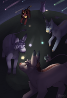 [Harbingers] Falling Stars by ScoutCritter