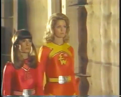 Electra Woman and Dyna Girl Trance Animation by The-Mind-Controller