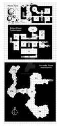 Dungeon Map by artikid