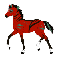 N3240 Padro Foal Design for DarkestNation by casinuba