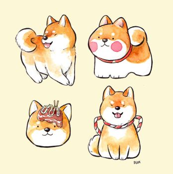Shibes by Dunicakes