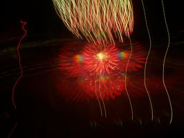 4th of July Fireworks 2--Crazy Hair Day by SharazDestler