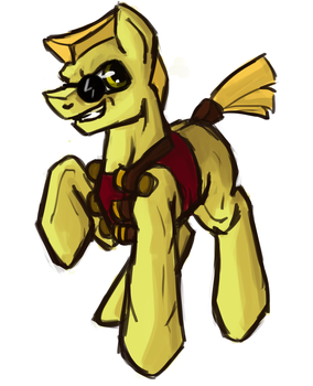 The Duke (Emergency 5$ commission) by Tracyelicious