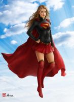 Supergirl (commisioned) by Nomad1975