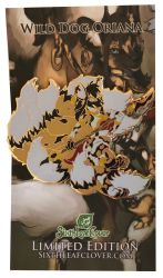 Nine-Tail Wild Dog Oriana Enamel Pin by The-SixthLeafClover