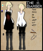 Creepypasta OC: The Barber |Updated ref| by DrBisou