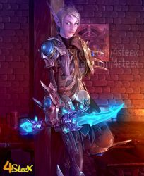 commission: world of warcraft OC by 4steex