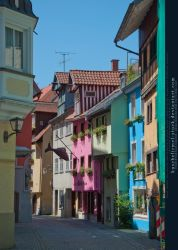 Bodensee - Streets of Lindau 01 by kuschelirmel-stock