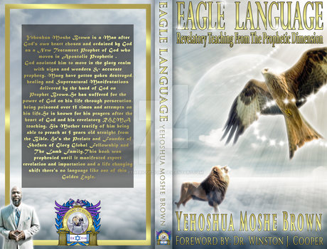 Eagle Language Book Cover by EthericDezigns