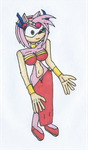 Request M.C Slave Amy Rose by Power1x