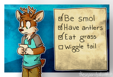How To Deer by ThesePantsDontFit