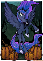 Luna's Night by reaperfox