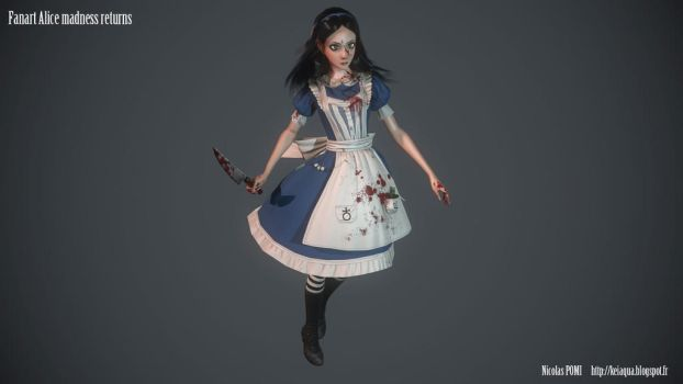 Alice madness returns Fanart by Keiaqua
