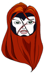 (Currently doing COMMISSIONS) Jean Grey Baseball by MarylizMonroe