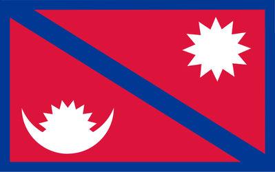 Flag: Kingdom of Nepal by Void-Wolf