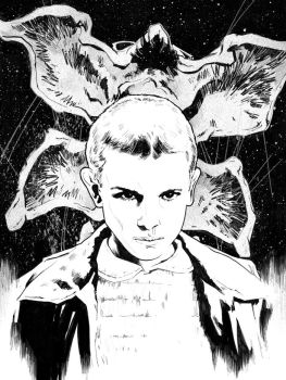 Eleven / StrangerThings by jasonbaroody