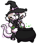 Bagbean Gift- A witches potion by MiniDragonfly