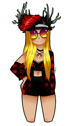 A Roblox Commission by MinnaMew