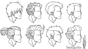 New Hairstyles Male by TheStupidFox