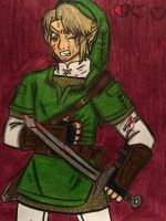 Half a heart left by angry-toon-link